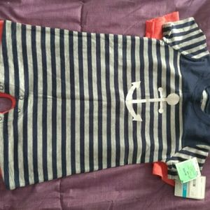 Carters 2 pack size  24 month rompees